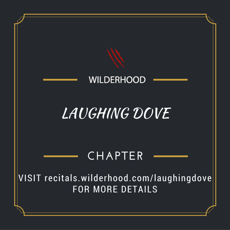 Laughing Dove is the series of wildlife caricatures in witty on wildlife with Wilderhood Recitals on every Wednesdays!