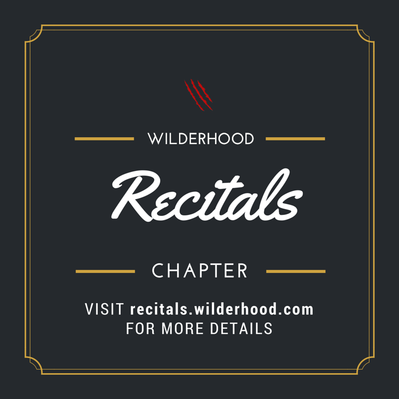 Wilderhood Recitals